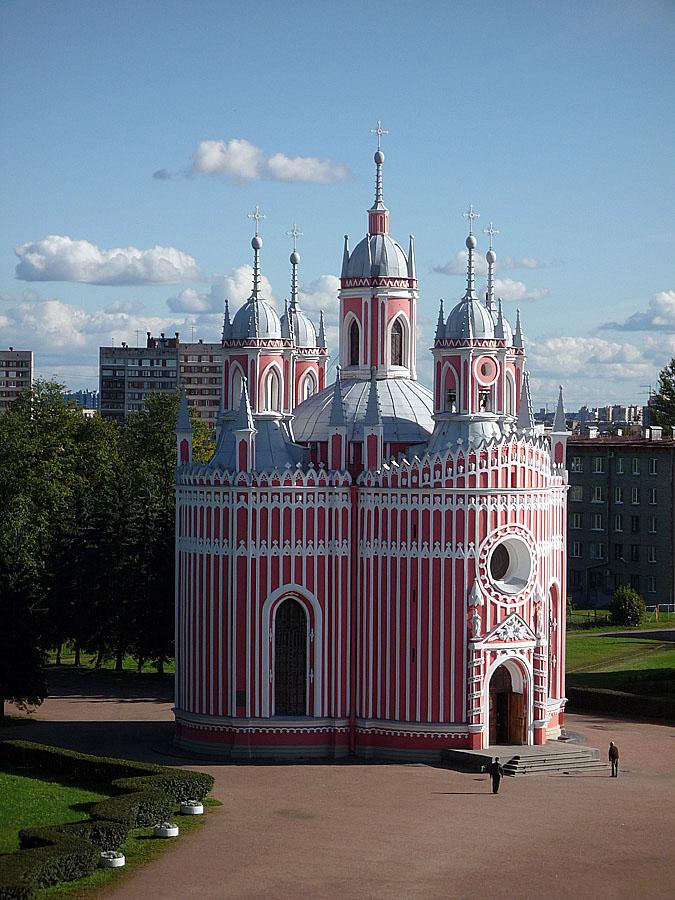 История церкви | Чесменская церковь: chesma.spb.ru/history